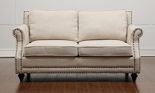 Furniture Collection Contemporary Upholstered Loveseat