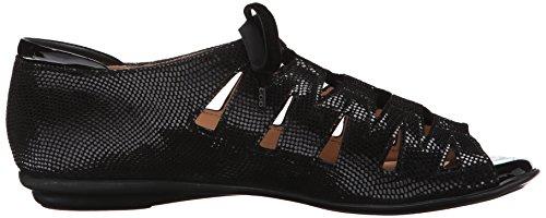 Beautifeel Womens Edyta Dress Sandal Black/Optical Effect Suede J8SMpqaI