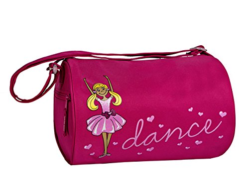 Price comparison product image Horizon Dance 2801 Tiny Dancer Small Pink Dance Duffel Bag - Blonde