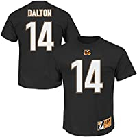 Andy Dalton #14 Cincinnati Bengals NFL Men's Eligible Receiver II T-shirt Black