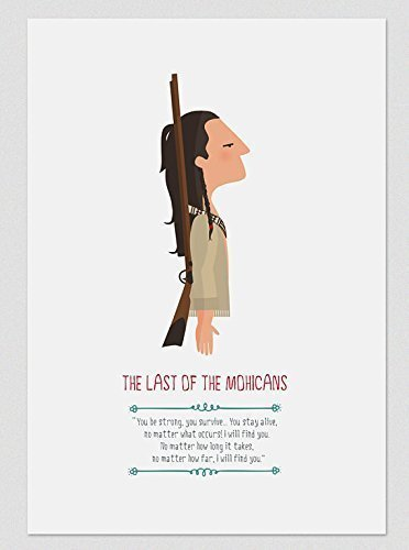 Amazoncom Print The Last Of The Mohicans Available In Two Sizes
