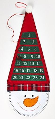 Natale Calendario.Idea Natale Calendario Dell Avvento Da Appendere In Stoffa