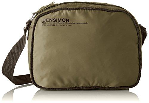 Cross Body Small Bag Kaki Bensimon Womens Green Besace 1xtFqHq6