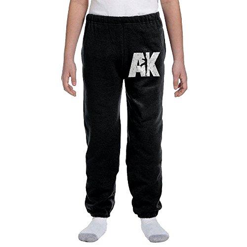 AK47 White Teen/Youth Sweatpants With Drawstring Elastic ...