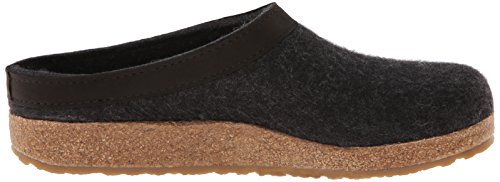 Pelle Di Haflinger Gzl In Pelle Grizzly Antracite