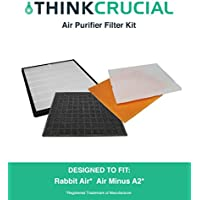 Replacement for Rabbit Air Air Minus A2 Filter Kit, Fits SPA-780A, by Think Crucial