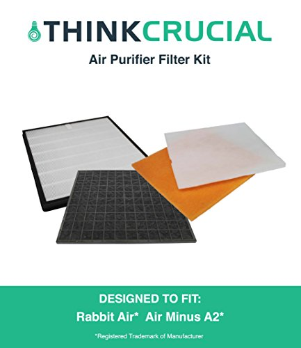 Rabbit Air Air Minus A2 Filter Kit, Fits SPA-780A, by Think Crucial