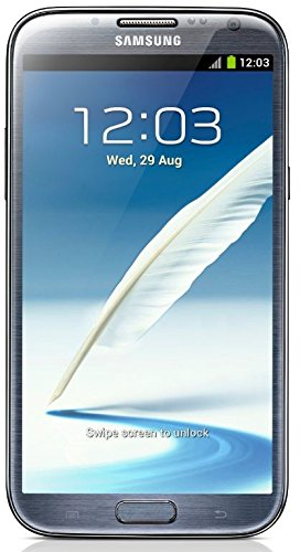 Samsung Galaxy Note 2 L900 16GB Sprint (Locked) No-Contract 4G LTE Quad-Core Smartphone w/ 8MP Camera and S Pen Stylus - Titanium Gray (Cellphone Samsung Notebook)