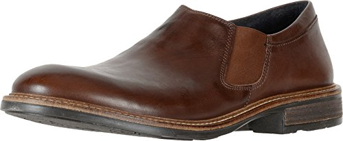 - Naot Footwear Men's Director Toffee Brown Leather Loafer