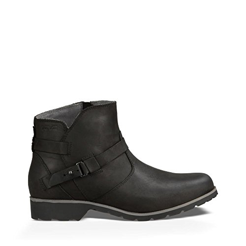 Teva Women's W Delavina Ankle Boot - Black - 8.5 B(M) US
