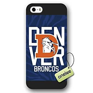 Personalize NFL Denver Broncos Team Logo Frosted Black Case For Iphone 5C Cover Case CovNFL Denver Broncos Team Logo Frosted Black Case For Iphone 5C Cover Case CovBlack BY icecream design