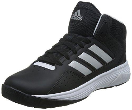 Adidas Nero Uomini Cloudfoam Ilation Metà Nero Adidas / Bianco / Silver 14058a