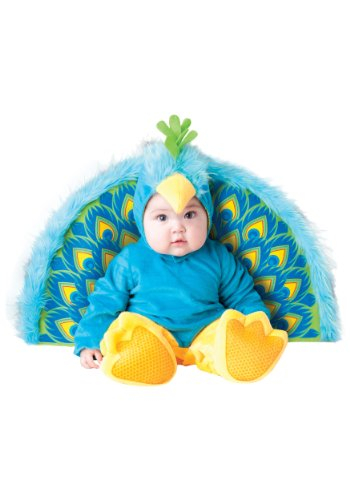 InCharacter Precious Peacock Baby Costume