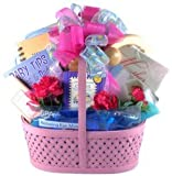 Spoil Her Rotten! Elegant Gourmet Women's Gift Basket for New Mothers