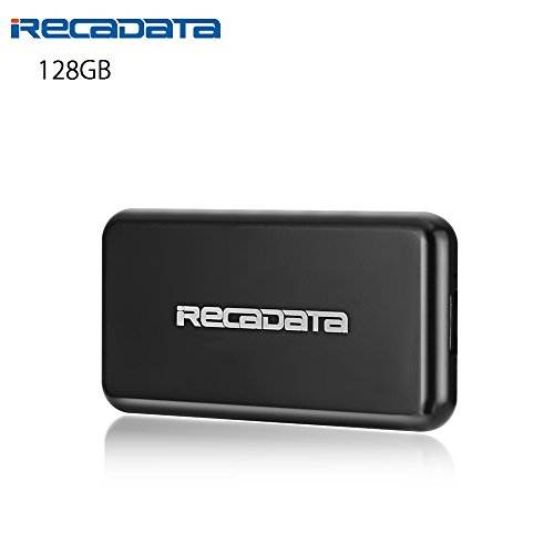 iRecadata M30 Portable SSD, 64G Mini External Solid State Drive with Encryption Function, USB 3.0, mSATA III MLC SSD Built-in, Black by irecadata