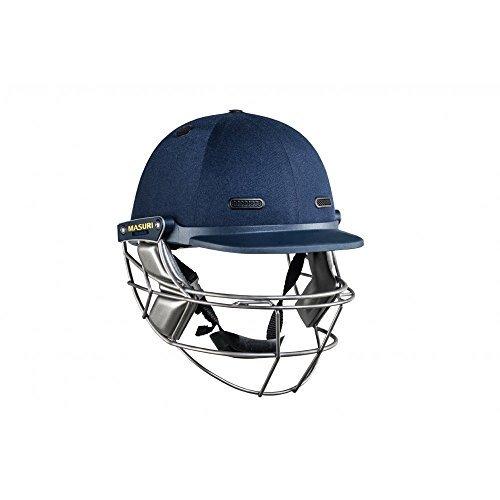 Masuri Vision Series (VS) Elite Steel Cricket Batting Helmet (Navy) Large by Masuri by Masuri