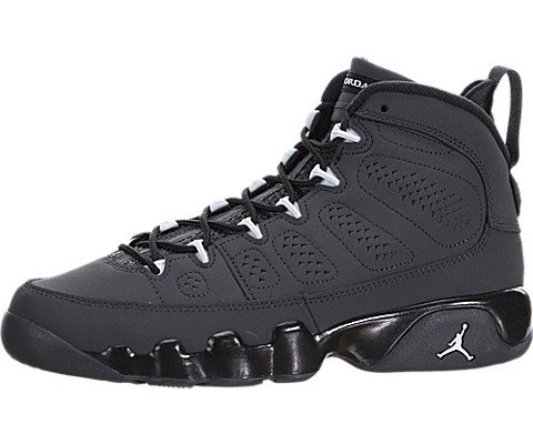 Nike Air Jordan 9 Retro BG 302359-013 Anthracite/White/Black Kids Basketball Shoes (size 5) by NIKE