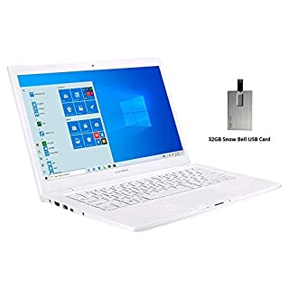 "2020 ASUS ImagineBook 14"" FHD Laptop Computer, Intel Core m3-8100Y Processor, 4GB RAM, 128GB SSD, Intel UHD Graphics, HD Webcam, ASUS SonicMaster, HDMI, Windows 10S, White, 32GB USB Card"