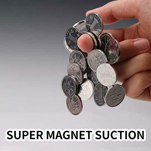 schwebender Ring magische Requisiten magisches Spielzeug klinkamz Magnetischer Ring zum Aufh/ängen