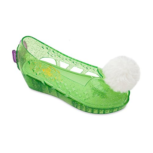 Disney Tinker Bell Costume Shoes for Kids Size 9/10 YTH Green