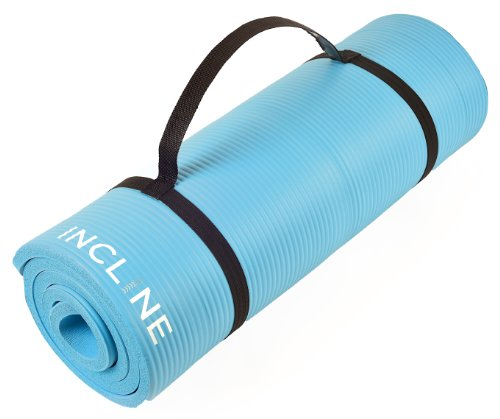 Incline Fit Extra Thick and Long Comfort Foam Yoga/Exercise