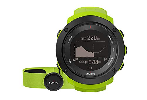 cal HR Heart Rate Monitors Outdoor Sports Watches - Lime, One Size ()