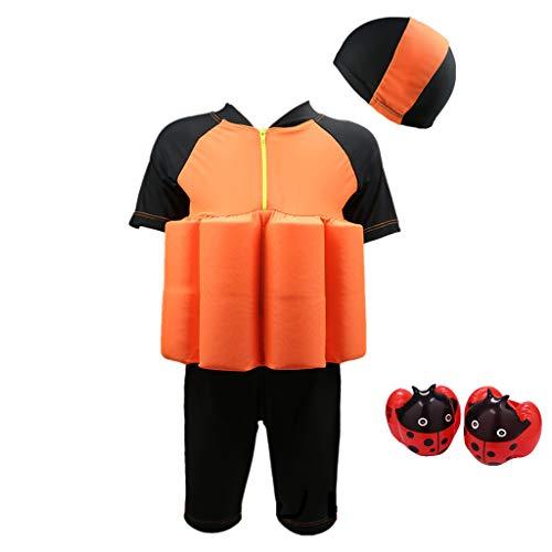 Sundwsports Traje de baño para niños con Capucha y Pulsera de protección  Solar 1000bc0132f