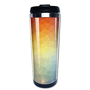 KOBOSS Colorful Resuable And Outdoor Warm Starbucks Mug For Business,Travel,Sporting With 400 Ml Of Capacity