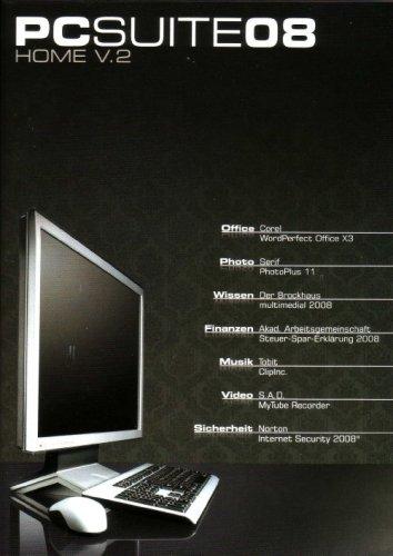 PCSuite 08 Home V.2 - OEM (Corel WordPerfect Office X3, Serif PhotoPlus 11, Der Brockhaus multimedial 2008, ...)