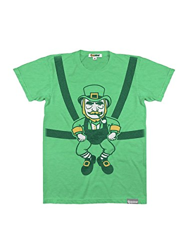Funny Men's St. Patty's Day Shirts - Green St. Patrick's Day Tees Outfits for Guys (Wee Baby Leprechaun, X-Large)