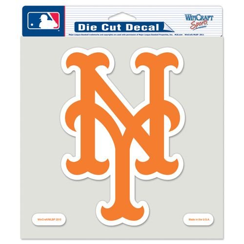 MLB New York Mets 79774010 Perfect Cut Color Decal, 8