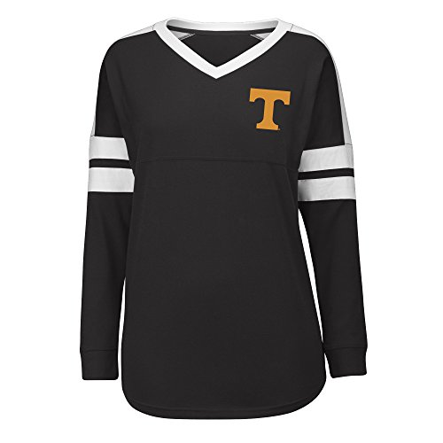 Vols T-shirts Tennessee Lady - J America NCAA Tennessee Volunteers Women's Gotta Have It Cheer Tee, X-Large, Black/White