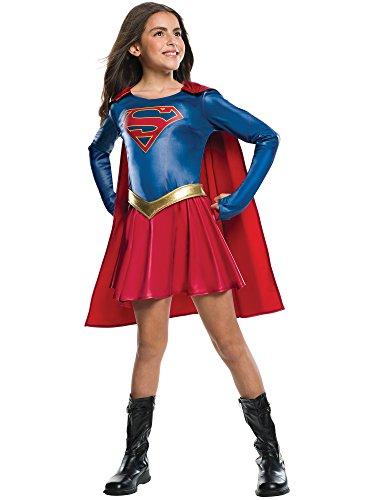 Rubie's Costume Kids Supergirl TV Show Costume, (Halloween Costumes From Tv Shows And Movies)