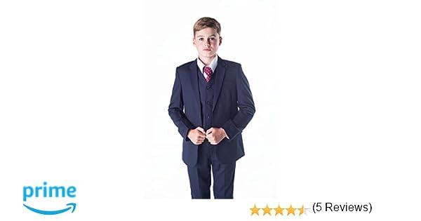 4d5d392be82f6 Romario - Traje azul marino para niños
