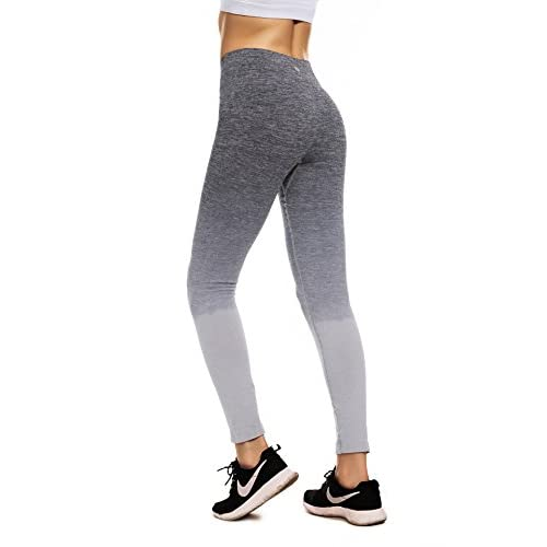 b02c3a55d3042 85%OFF RUNNING GIRL Ombre Yoga Pants Performance Active Stretch Running  Leggings