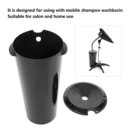 (Washbasin Bucket, 10L Mobile Hair Washbasin Bucket Dirty Water Treatment for Solon Home Hair Shampoo Basin Tank)