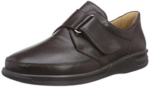 Ganter Sensitiv Kurt, Weite K - Zapatillas de casa de Cuero Hombre marrón - Braun (espresso 2000)