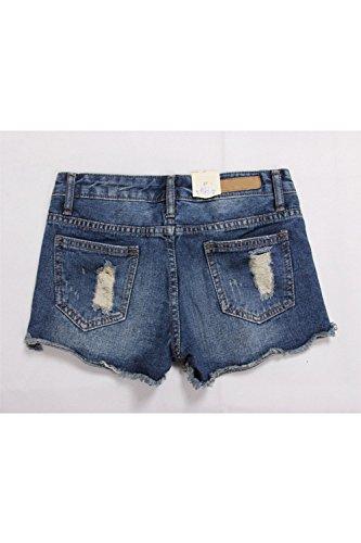 Pantaloncini Pantaloncini yulinge Donna Blue Donna yulinge YvWW75