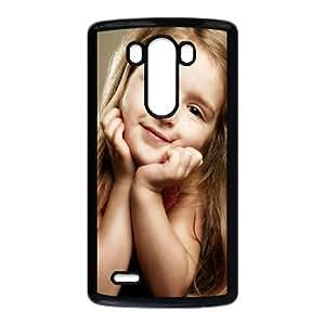 LG G3 Cell Phone Case Black Cute Girl Custom Hard Phone Case Cover XPDSUNTR30646