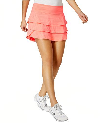 Ideology Women's Tiered Skort (XL, Dark Pink) by Ideology