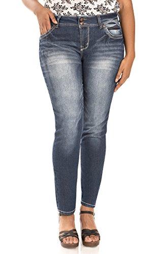 WallFlower Juniors Plus Size Luscious Curvy Skinny Jeans in Katy Size:20