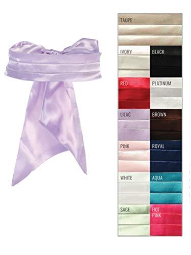Lilac Cummerbund (Tip Top Kids Girls Lilac Satin Cummerbund Special Occasion Elegant Sash)