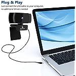 2021 AutoFocus 1080p Webcam with Stereo Microphone and Privacy Cover, NexiGo FHD USB Web Camera, for Streaming Online…