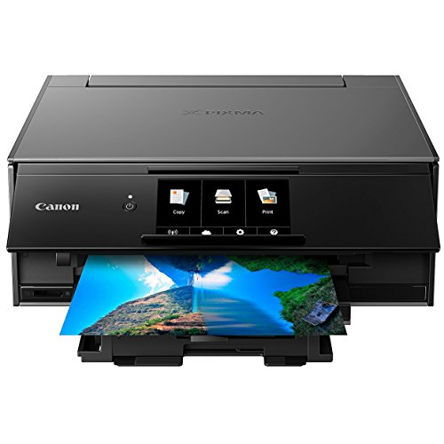 Canon TS9120 Wireless All-In-One Printer with Scanner and Copier: Mobile and Tablet Printing, with Airprint(TM) and Google Cloud Print compatible, Gray by Canon