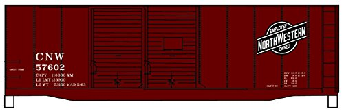 Accurail 3612 HO Chicago & North Western 40' AAR Double-Door Boxcar Kit ()