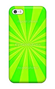 New Premium Doug Jordan Bright Green Stripes Skin Case Cover Excellent Fitted For Iphone 5/5s