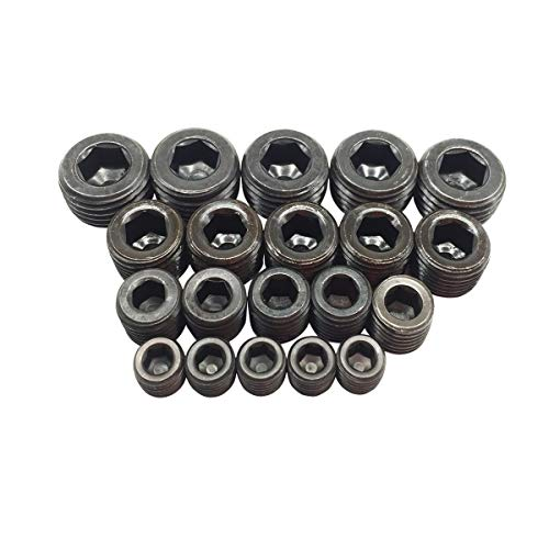 Plug Chrome Pipe - Pipe Plug Fitting Kits 1/8 Inch 1/4