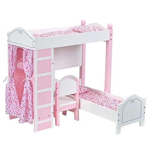 Doll Loft Bunk Bed Set