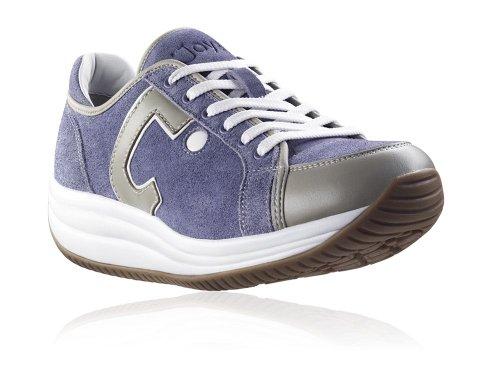 Joya Sneaker Beige blau Blu Donna 1rw0A7q1p