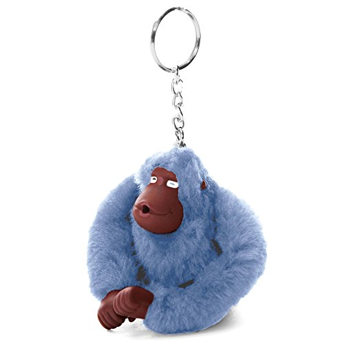 Kipling Women's Sven Monkey Keychain One Size Dream Blue by Kipling